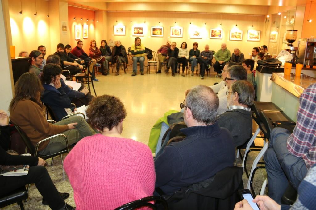 Assemblea Comú celebrada aquest diumenge 1 a l'Ateneu