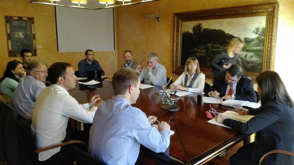 Comissió Transparència celebrada el 15 d'abril
