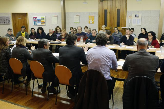 Consell Escolar (foto Herminia Sirvent, Paeria)