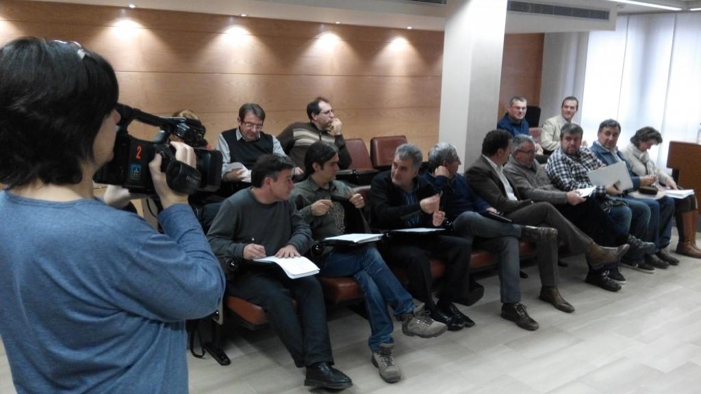 Ple del Consell Comarcal del mes de desembre