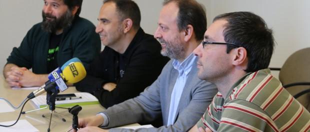 El Comú, la Crida i ERC vam fer públics els detalls de la licitació en roda de premsa