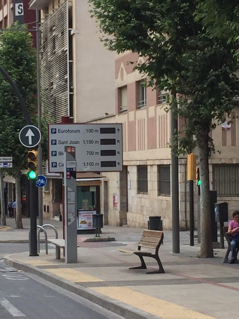 Plafó a Rambla d'Aragó