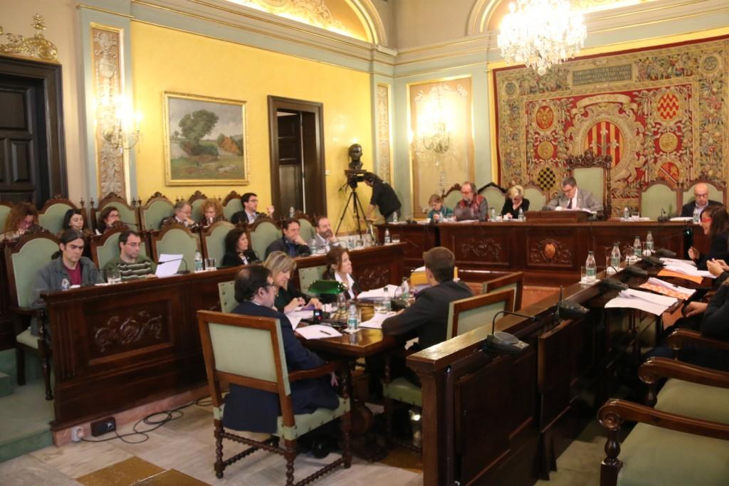 El ple de desembre va debatre la moció de transparència en radars presentada pel Comú
