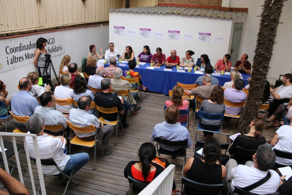 Taula Rodona Cooperació i Solidaritat a la Coordinadora ONGD i aMS de Lleida