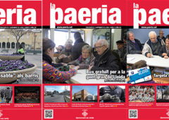 """Revista Paeria: """"Tota aquesta revista és propaganda electoral"""""""